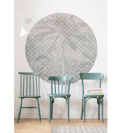 Palma Self-adhesive Wallpaper Circle ⌀125cm