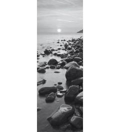 Bossington Beach at sunrise