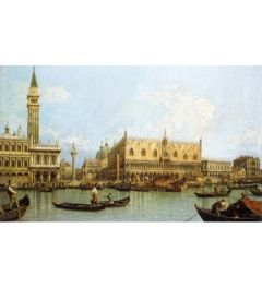 Venice from Port San Marco - Canaletto
