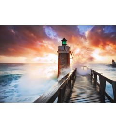 Lighthouse 7-piece Photo wallpaper 350x260cm