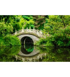Japanese Garden 7-piece Photo wallpaper 350x260cm