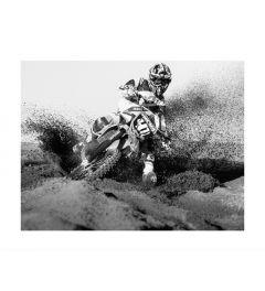 Motocross Bike Rider Art Print
