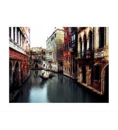 Gondolier In Venice Art Print