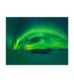 Northern Lights Panorama Art Print