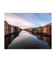 Trondheim Norway Art Print