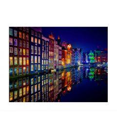 Amsterdam Canal Houses Art Print
