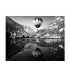 Hot Air Balloon Flight in Italy Art Print