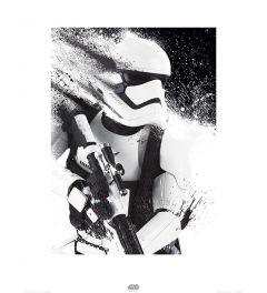 Star Wars Stormtrooper Paint Art Print 60x80cm