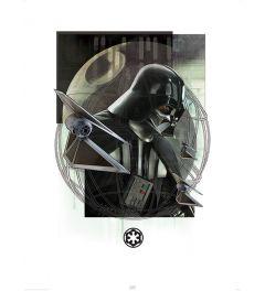 Star Wars Darth Vader & Strikers Art Print 60x80cm