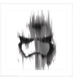 Star Wars Stormtrooper Lines Art Print 40x40cm