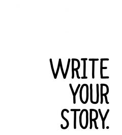 Write Your Story Art Print
