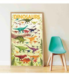Poppik Dinosaurs Sticker Poster 68x100cm