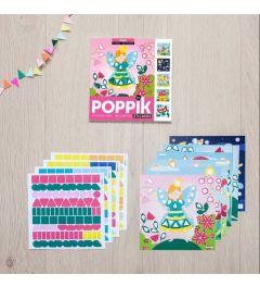 Poppik Magic Sticker Cards 15x15cm