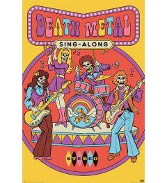Steven Rhodes Death Metal Sing-Along Poster 61x91.5cm