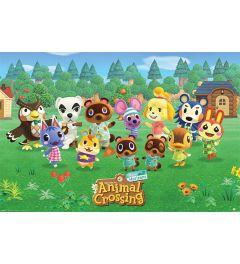 Animal Crossing Lineup Poster 61x91.5cm