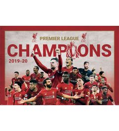 Liverpool FC Champions Montage Poster 61x91.5cm