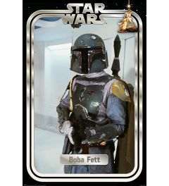 Star Wars Boba Fett Retro Packaging Poster 61x91.5cm