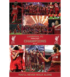 Liverpool FC Winning Season Poster 61x91.5cm