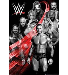 WWE Superstars Swoosh Poster 61x91.5cm