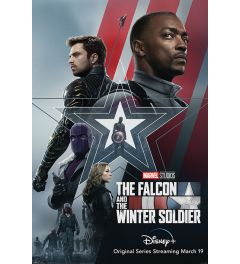 The Falcon and the Winter Soldier Stars and Stripes Poster 61x91.5cm
