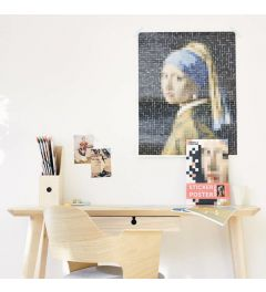 Poppik Vermeer Girl with a Pearl Earring Sticker Poster 48x57cm
