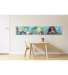 Poppik Aquarium Sticker Poster 140x25cm