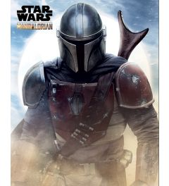 Star Wars The Mandalorian Sand Poster 40x50cm