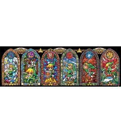 The Legend Of Zelda Stained Glass Poster 30x91.5cm