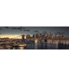New York at dusk
