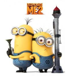 Despicable Me 2 Armed Minions Poster 40x50cm