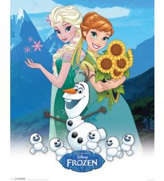 Frozen - Anna, Elsa and Olaf