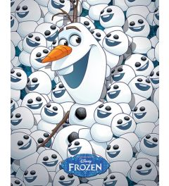 Frozen - Olaf and baby Olafs - 40x50