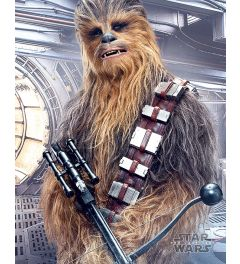 Star Wars The Last Jedi Chewbacca Bowcaster