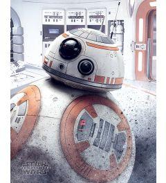 Star Wars The Last Jedi BB-8 Peek