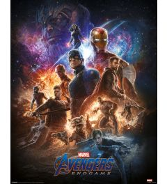 Avengers Endgame From The Ashes Poster 40x50cm