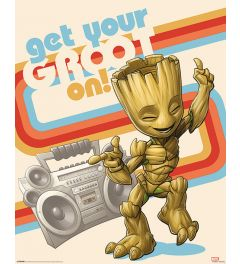 Guardians Of The Galaxy Vol 2 Get Your Groot On Poster 40x50cm