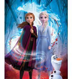 Frozen 2 Guiding Spirit Poster 40x50cm