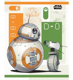 Star Wars The Rise Of Skywalker BB8 And D-O Poster 40x50cm