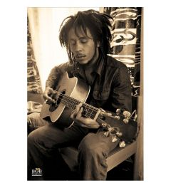 Bob Marley Sepia