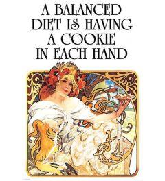 A Balanced Diet Poster 61x91.5cm