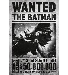 Batman Arkham Origins Wanted Poster 61x91.5cm