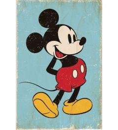 Mickey Mouse Retro Poster 61x91.5cm