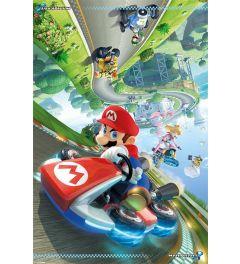 Mario Kart 8 Flip Poster 61x91.5cm