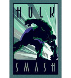 Marvel Deco Hulk Poster 61x91.5cm