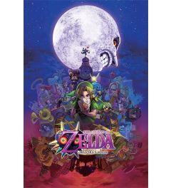 The Legend Of Zelda Poster Majora's Mask 61x91,5cm