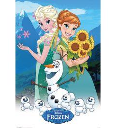 Forzen - Anna, Elsa and Olaf