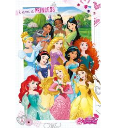 Disney Princess I'm A Princess Poster 61x91.5cm