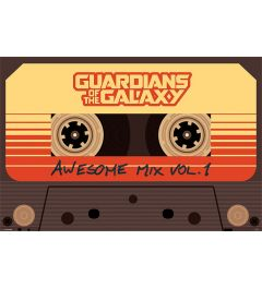 Guardians Of The Galaxy Awesome Mix Vol. 1 Poster 91.5x61cm