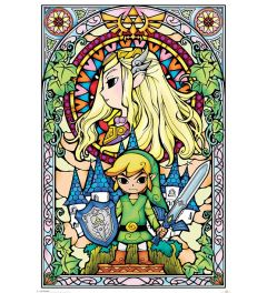 The Legend of Zeflda - Stained Glass