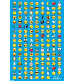 Smiley Emoticons Poster 61x91.5cm